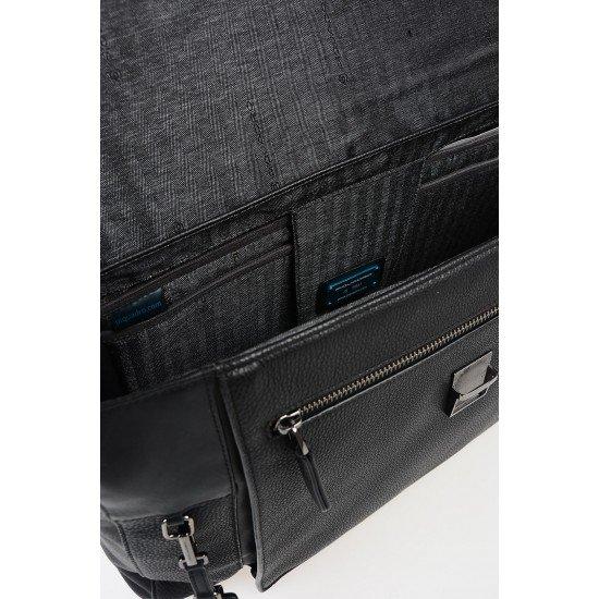 """Бизнес чанта за лаптоп 15.6"""" Vostok - черна"""