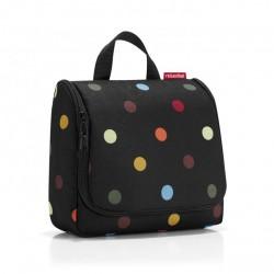 Козметична чанта Reisenthel Райе - Черна на точки