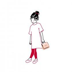 Детска козметична чанта Reisenthel - Розова