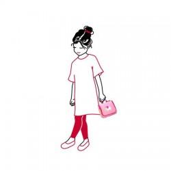 Детска козметична чанта Reisenthel - Тъмно розова