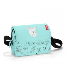Всекидневна детска чанта Reisenthel - Cats&Dogs Mint