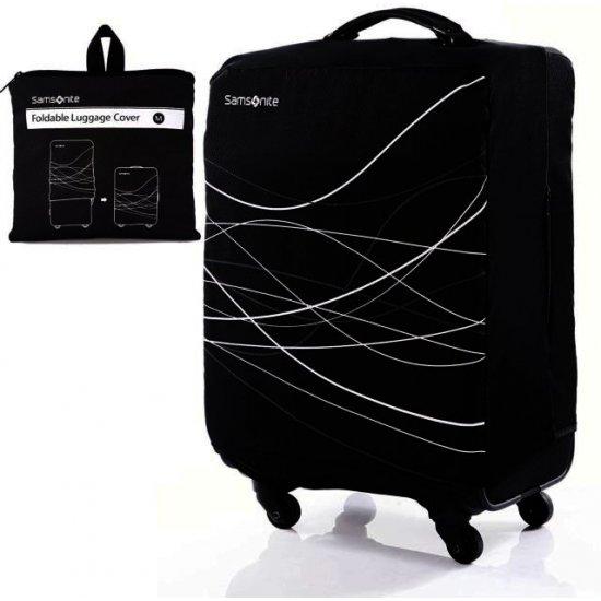Калъф за куфар с височина от 65 до 75 см - Черен