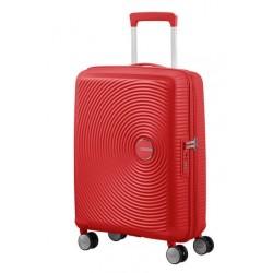 Куфар American Tourister Soundbox 55 см с разширение - кораловочервен