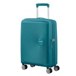 Куфар American Tourister Soundbox 55 см с разширение - зелен