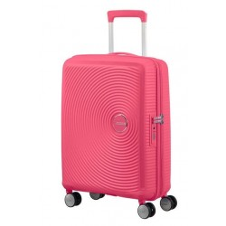 Куфар American Tourister Soundbox 55 см с разширение - Hot Pink