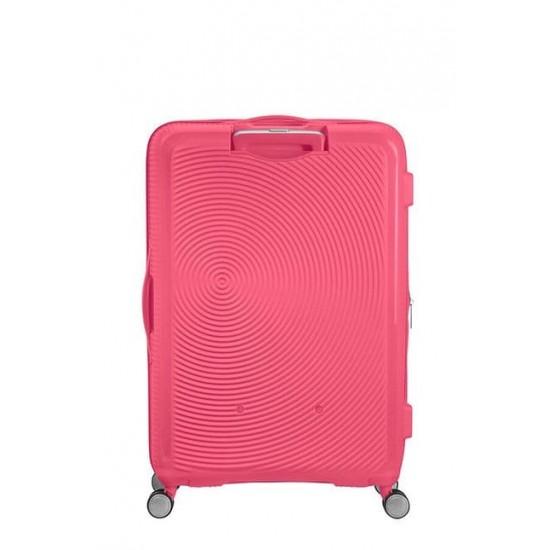 Куфар American Tourister Soundbox 77 см с разширение - Hot Pink