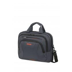 """Чанта за лаптоп At Work 13.3-14.1"""" - сив/оранжев"""
