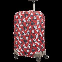 Калъф за куфар Travel Accessories M - Спинер 69 см Mickey/Minnie Red