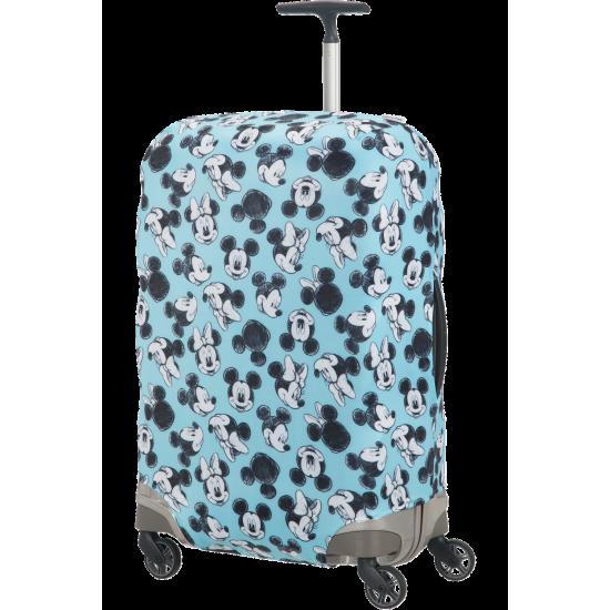 Калъф за куфар Travel Accessories M - Спинер 69 см Mickey/Minnie Blue