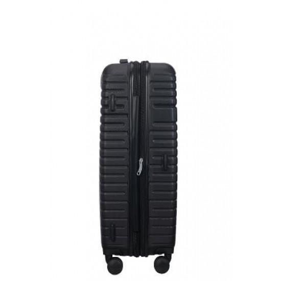 Куфар American Tourister Aero Racer 68 см с разширение - черен