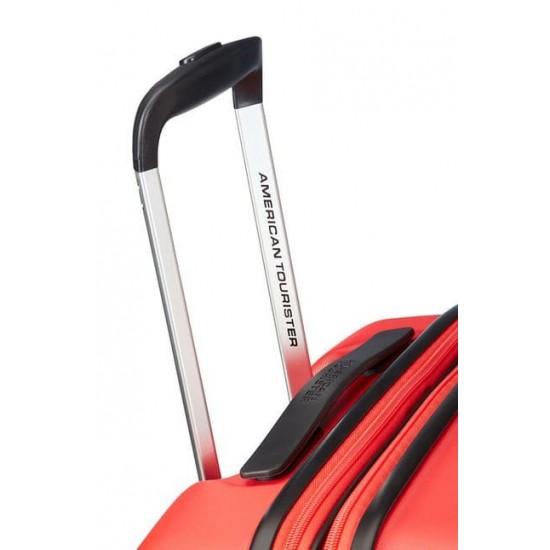 Куфар American Tourister Aero Racer 68 см с разширение - червен