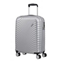 Куфар American Tourister Jetglam 55 см - сребро