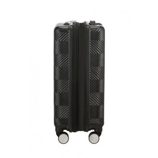 Куфар American Tourister Flylife 55 см с разширение - черен