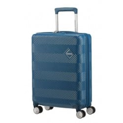 Куфар American Tourister Flylife 55 см с разширение - петролено син