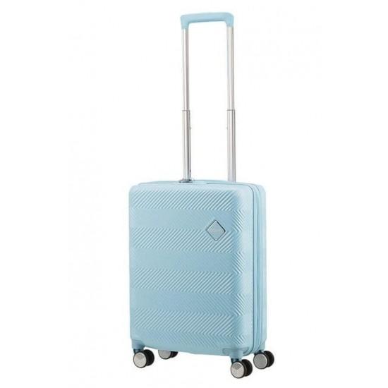 Куфар American Tourister Flylife 55 см с разширение - светлосин