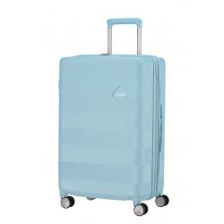 Куфар American Tourister Flylife 67 см с разширение - светлосин