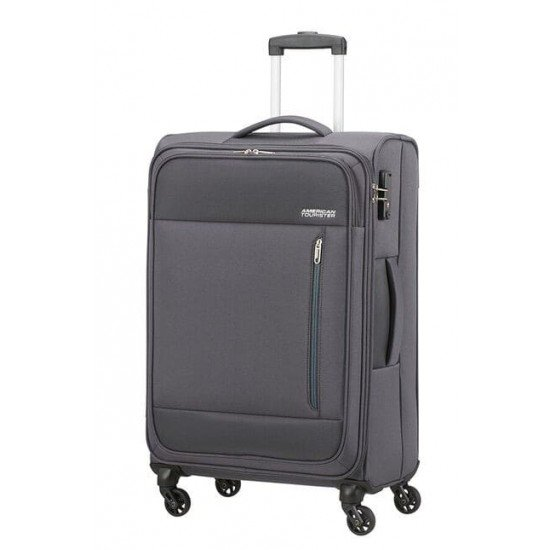Куфар American Tourister Heat Wave 68 см - сив