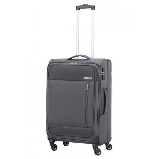Куфар American Tourister Heat Wave 68 см - сив