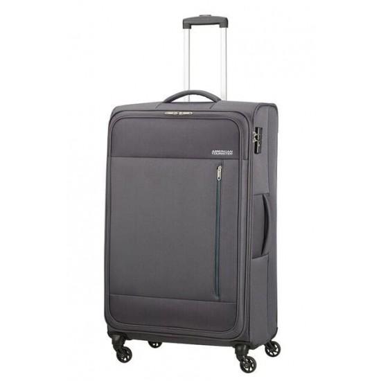 Куфар American Tourister Heat Wave 80 см - сив