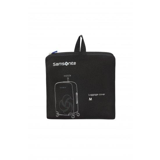 Калъф за куфар Travel Accessories M - Спинер 69 см Черен