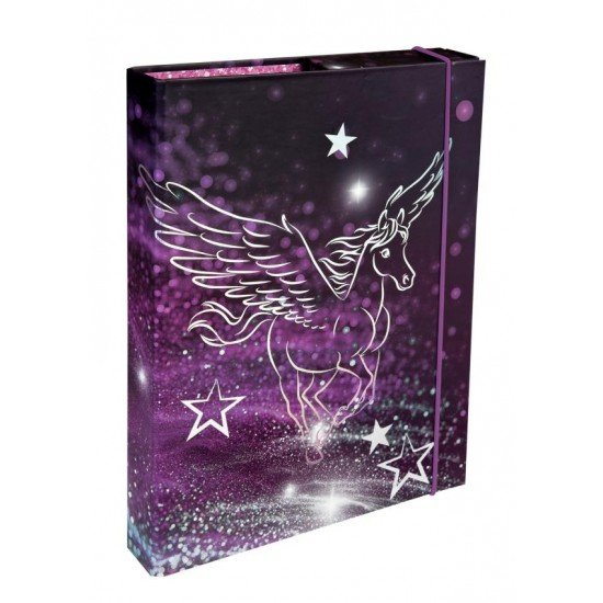 Undercover Папка с ластик кутия Pegasus 28357