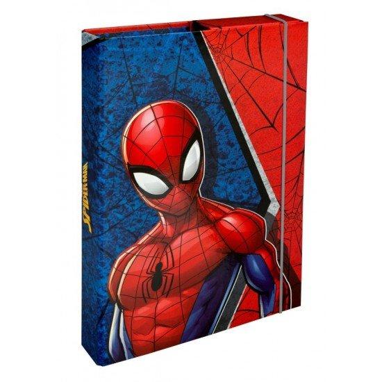 Undercover Папка с ластик кутия Spiderman 28242