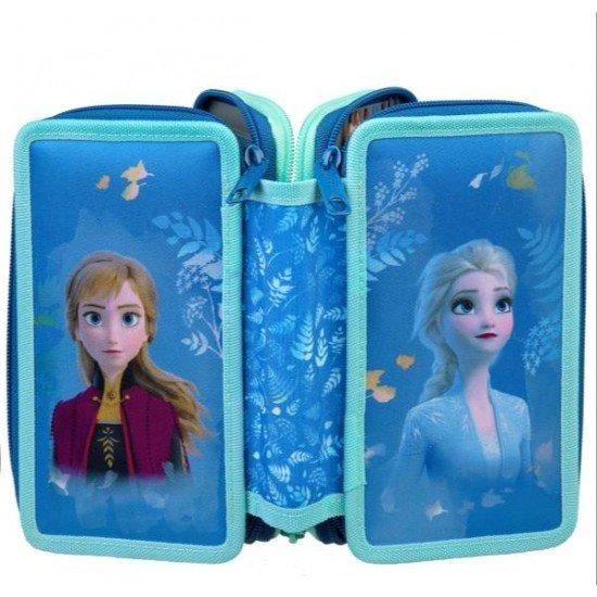 Undercover Ученически несесер Frozen, 3 отделения 28797