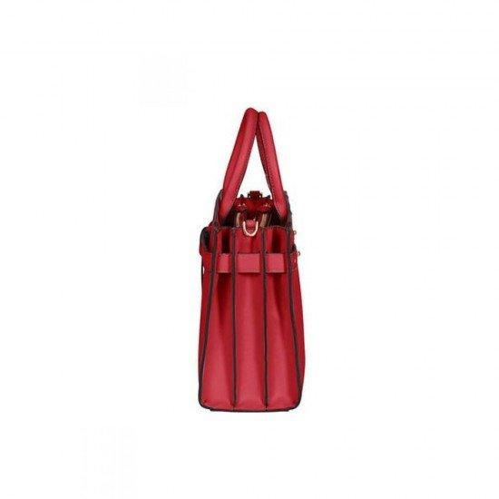 Дамска чанта за през рамо My Samsonite размер M - Доматено Червено