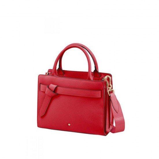 Дамска чанта за през рамо My Samsonite размер S - Червено Скарлет