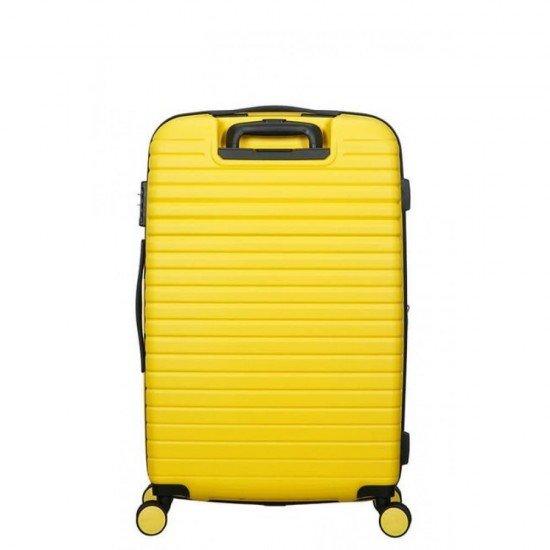 Куфар American Tourister Aero Racer 68 см с разширение - Жълт
