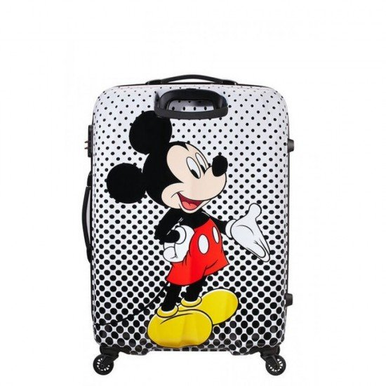 Куфар American Tourister Disney Legends 75 см - Mickey Mouse Polka Dot