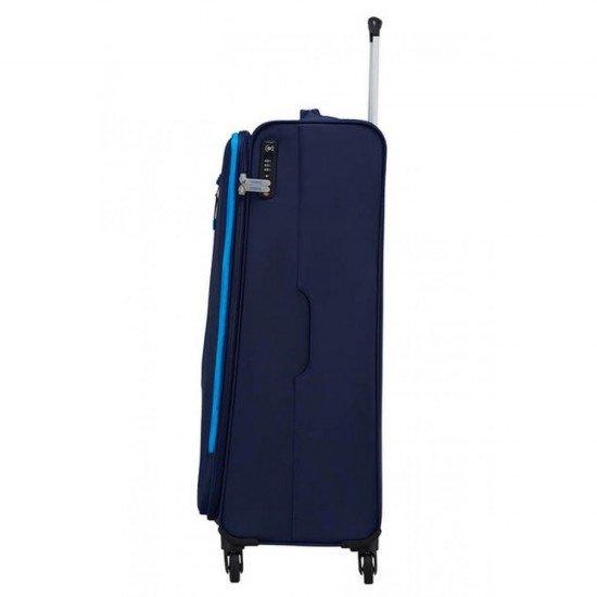 Куфар American Tourister Lite Volt 79 см - Тъмно/Светло Синьо