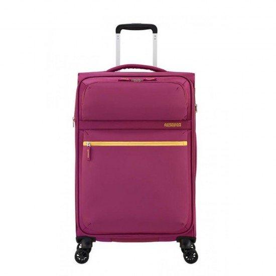 Куфар American Tourister MatchUP с разширение 67 см - Лилав