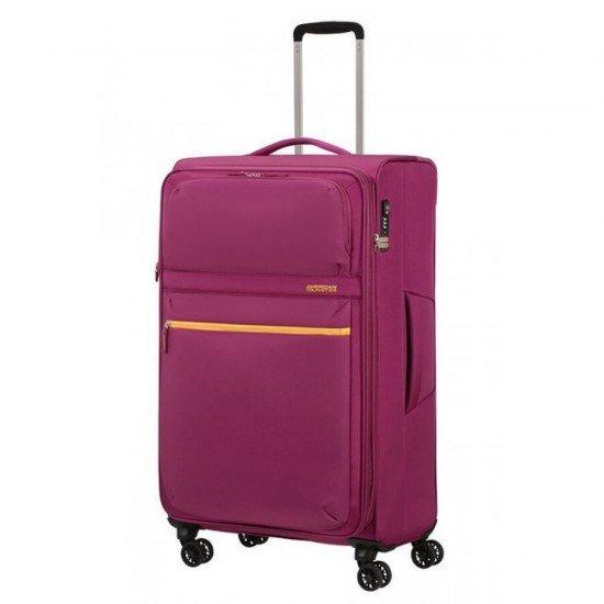 Куфар American Tourister MatchUP с разширение 79 см - Лилав
