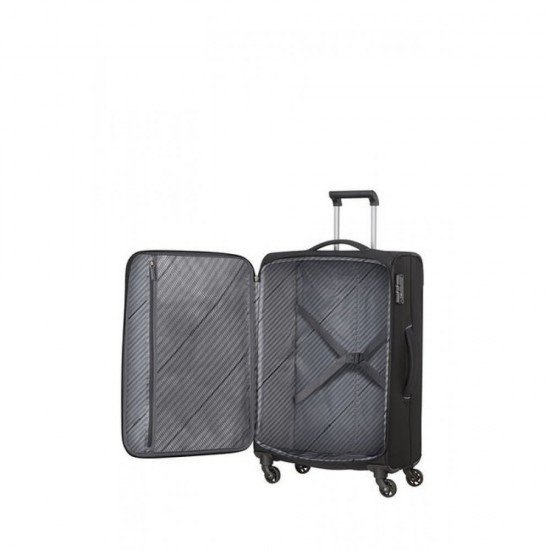 Куфар American Tourister Sunny South 67 см - Черен