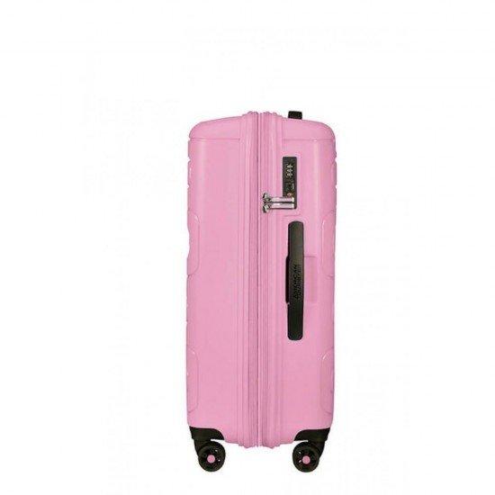 Куфар American Tourister Sunside 68 см - Розов сладолед