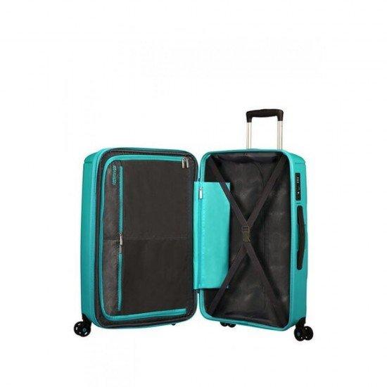 Куфар American Tourister Sunside 68 см - Тюркоаз