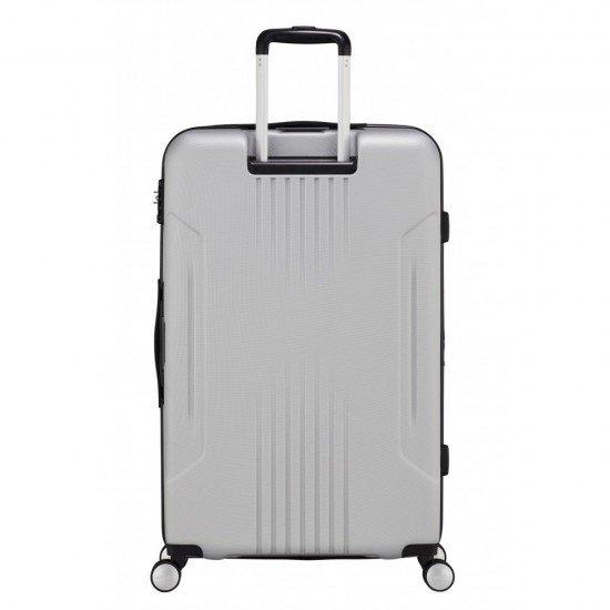 Куфар American Tourister Tracklite с разширение 78 см - Светло сив
