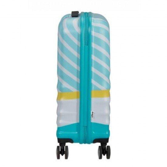 Куфар American Tourister Wavebreaker 55 см - MICKEY BLUE KISS