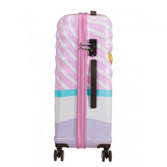 Куфар American Tourister Wavebreaker 67 см - DAISY PINK KISS