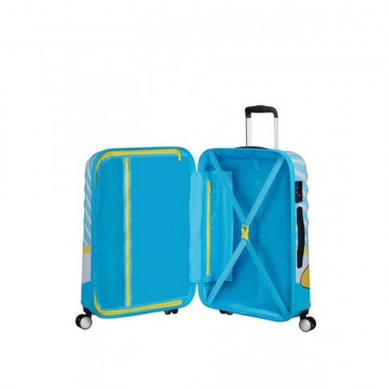 Куфар American Tourister Wavebreaker 67 см - DONALD BLUE KISS