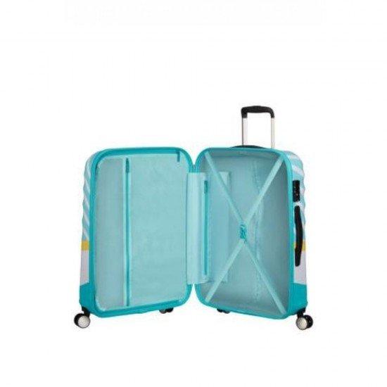 Куфар American Tourister Wavebreaker 67 см - MICKEY BLUE KISS