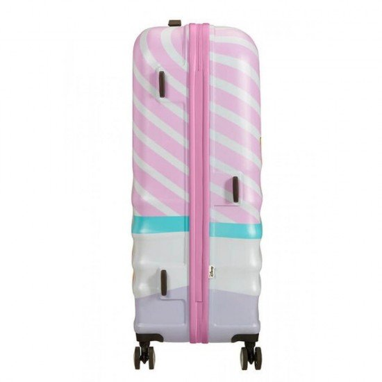 Куфар American Tourister Wavebreaker 77 см - DAISY PINK KISS
