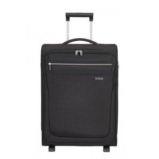 Куфар на 2 колела American Tourister Sunny South 55 см - Черен
