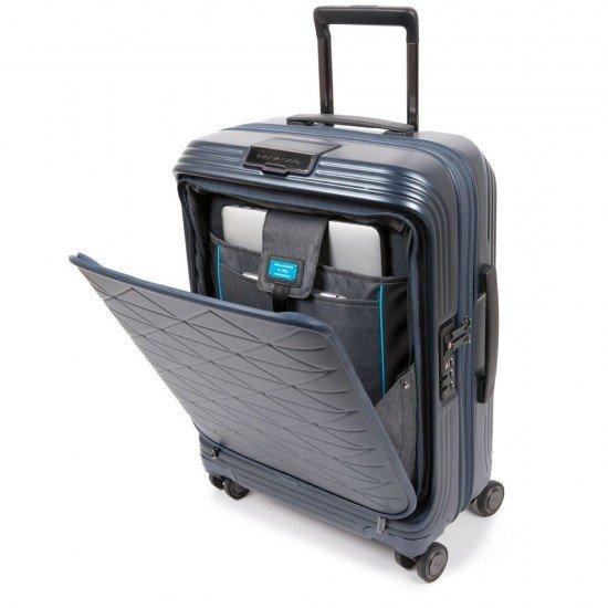 Куфар Piquadro PIQBIZ 55 см - Черен