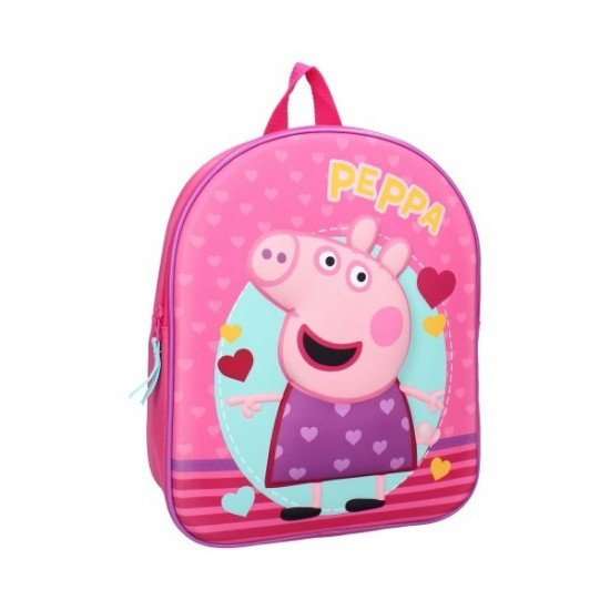 Раница за детска градина Peppa Pig Strong Together 3D Vadobag