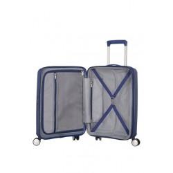 American Tourister куфар Soundbox 55 см - тъмно син