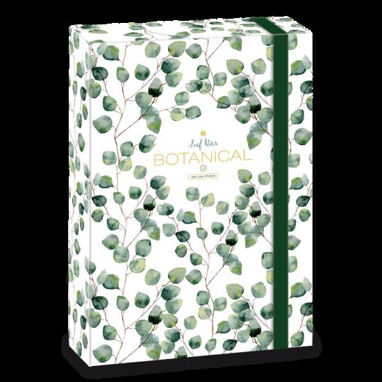 Кутия с ластик Ars Una Botanic Leaf А4