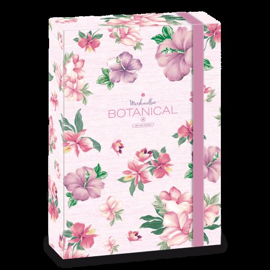 Кутия с ластик Ars Una Botanic Mallow А4