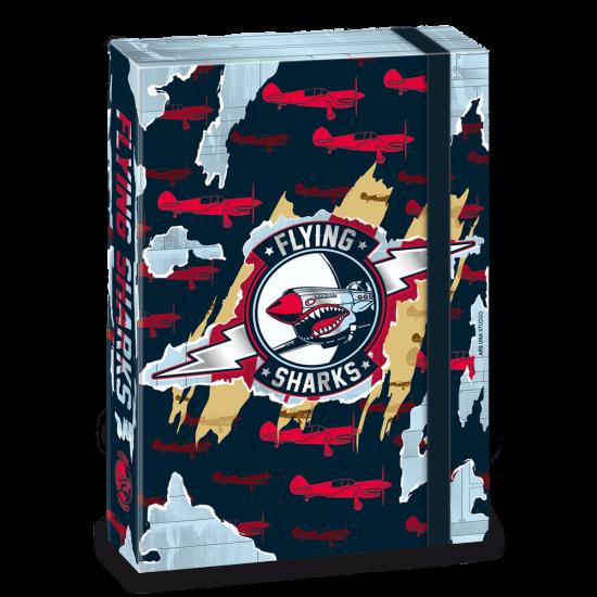 Кутия с ластик Ars Una Flying Sharks А4